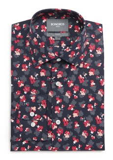 Bonobos Pearl Slim Fit Stretch Floral Dress Shirt
