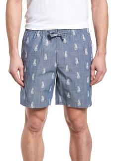Bonobos Print Chambray Shorts