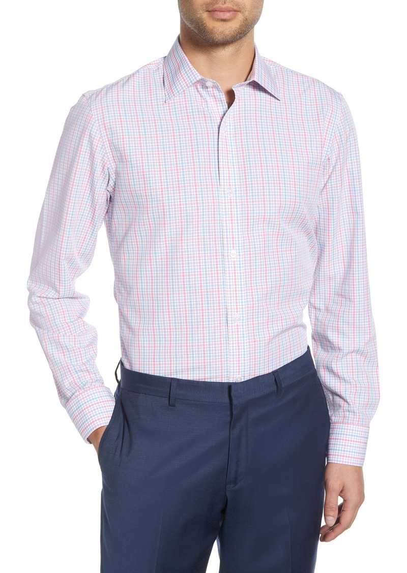 Bonobos Rancho Slim Fit Plaid Dress Shirt