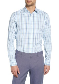 Bonobos Rancho Slim Fit Stretch Plaid Dress Shirt