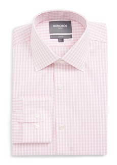 Bonobos Raven Slim Fit Stretch Check Dress Shirt