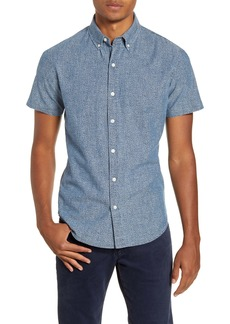Bonobos Riviera Slim Fit Chambray Short Sleeve Button-Down Shirt