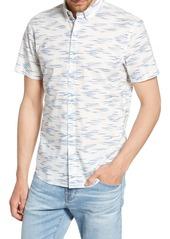 Bonobos Riviera Slim Fit Faux Ikat Print Shirt