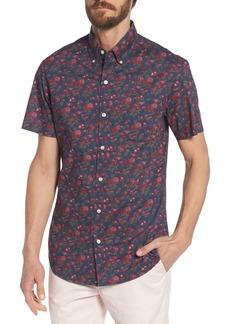 Bonobos Riviera Slim Fit Floral Print Sport Shirt