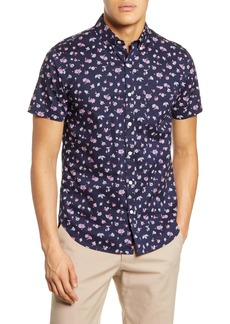 Bonobos Riviera Slim Fit Floral Short Sleeve Button-Down Shirt