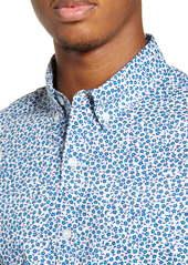 Bonobos Riviera Slim Fit Floral Short Sleeve Button-Down Sport Shirt