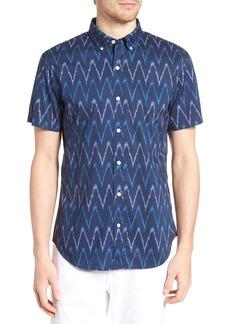 Bonobos Riviera Slim Fit Ikat Print Sport Shirt