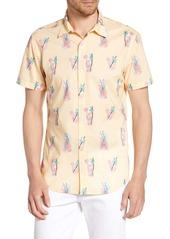 Bonobos Riviera Slim Fit Lemonade Print Shirt