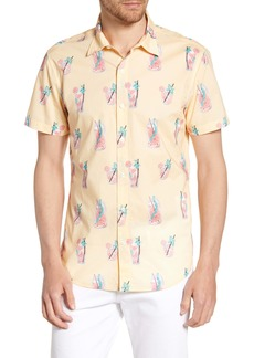 Bonobos Riviera Slim Fit Lemonade Print Shirt