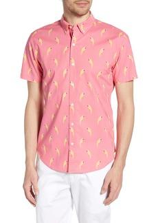Bonobos Riviera Slim Fit Macaw Print Shirt