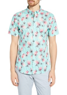 Bonobos Riviera Slim Fit Palm Print Shirt