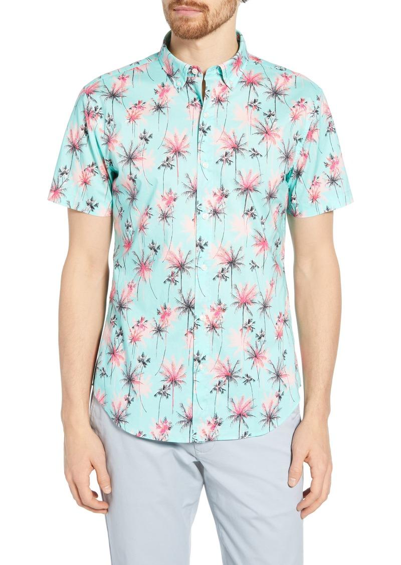 Bonobos Riviera Slim Fit Palm Print Shirt