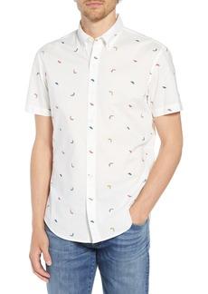 Bonobos Riviera Slim Fit Pepper Print Sport Shirt