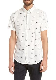 Bonobos Riviera Slim Fit Shark Print Sport Shirt