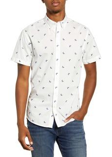 Bonobos Riviera Slim Fit Short Sleeve Button-Down Sport Shirt