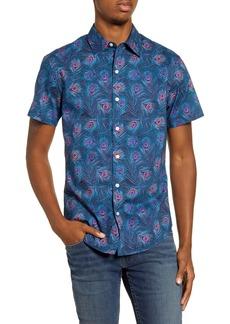 Bonobos Riviera Slim Fit Short Sleeve Button-Up Sport Shirt