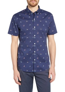 Bonobos Riviera Slim Fit Surfer Print Shirt
