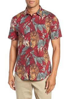 Bonobos Riviera Slim Fit Tiger Frond Sport Shirt