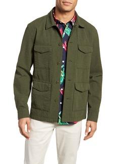 Bonobos Seersucker Military Jacket