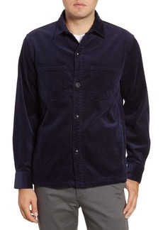 Bonobos Slim Fit Button-Up Corduroy Shirt Jacket