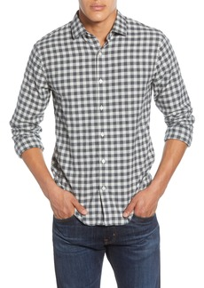 Bonobos Slim Fit Check Button-Up Flannel Shirt