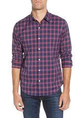 Bonobos Slim Fit Check Button-Up Performance Sport Shirt