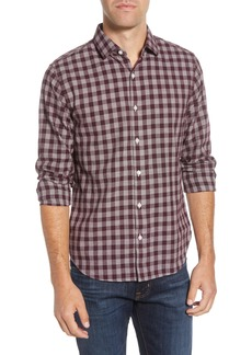 Bonobos Slim Fit Check Button-Up Sport Shirt
