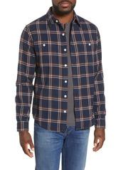 Bonobos Slim Fit Check Flannel Button-Up Shirt