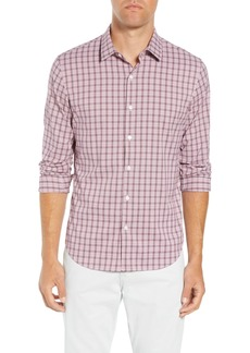 Bonobos Slim Fit Check Performance Sport Shirt
