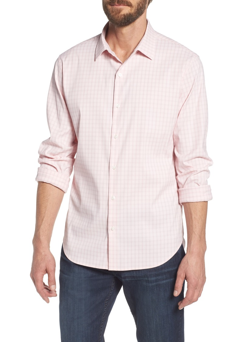 9d3d20de39 Bonobos Bonobos Slim Fit Check Performance Sport Shirt