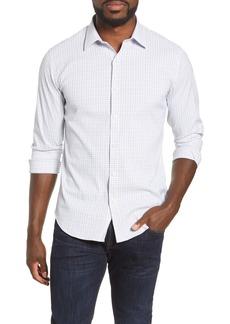 Bonobos Slim Fit Check Tech Button-Up Shirt