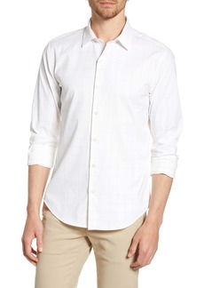 Bonobos Slim Fit Check Tech Shirt