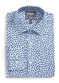 Bonobos Slim Fit Crow Print Dress Shirt