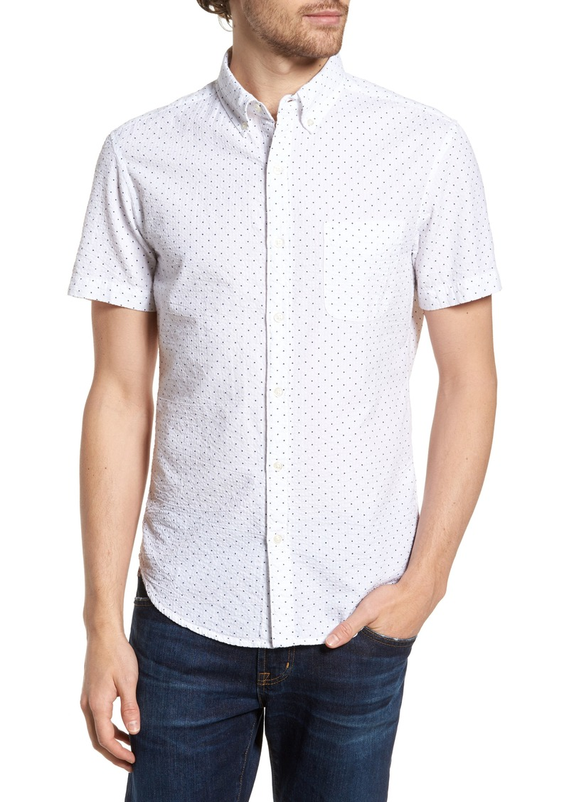 Bonobos Riviera Slim Fit Dot Print Sport Shirt