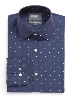 Bonobos Slim Fit Dot Stretch Dress Shirt