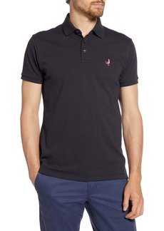 Bonobos Slim Fit Embroidered Duck Piqué Polo