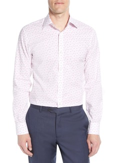 Bonobos Slim Fit Flamingo Print Stretch Dress Shirt