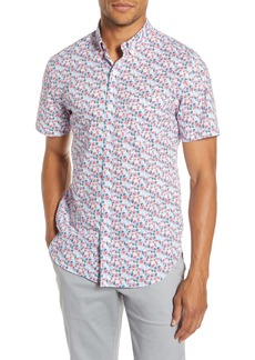Bonobos Slim Fit Floral Print Cotton Button-Up Shirt