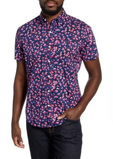 Bonobos Slim Fit Floral Short Sleeve Button-Down Shirt