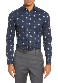Bonobos Slim Fit Floral Stretch Dress Shirt