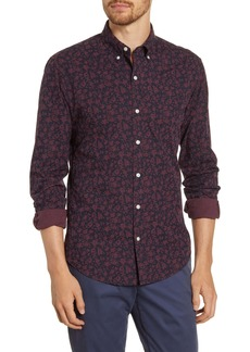 Bonobos Slim Fit Floral Washed Button-Down Sport Shirt
