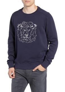 Bonobos Slim Fit Lion Embroidered Sweatshirt