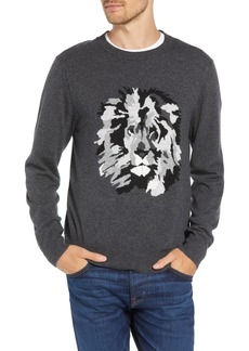 Bonobos Slim Fit Lion Intarsia Sweater