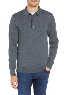 Bonobos Slim Fit Long Sleeve Merino Wool Polo