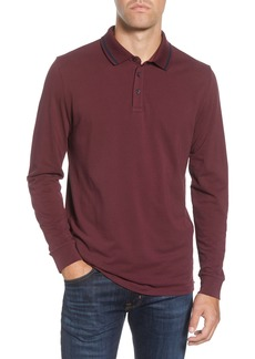 Bonobos Slim Fit Long Sleeve Superfine Piqué Polo