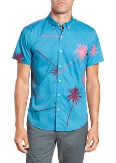 Bonobos Slim Fit Palm Tree Sport Shirt