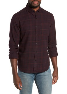Bonobos Slim Fit Plaid Brushed Twill Sport Shirt
