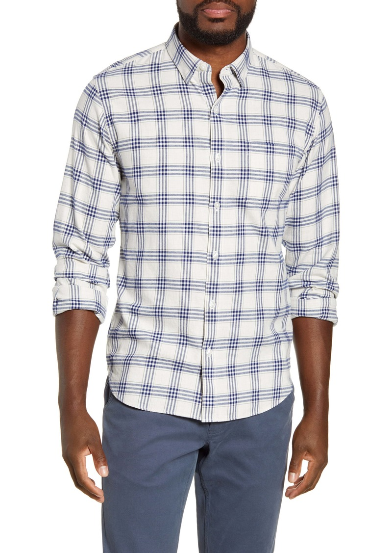 Bonobos Slim Fit Plaid Button-Up Flannel Shirt