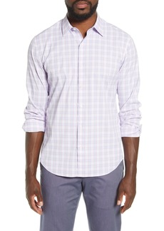 Bonobos Slim Fit Plaid Button-Up Performance Shirt