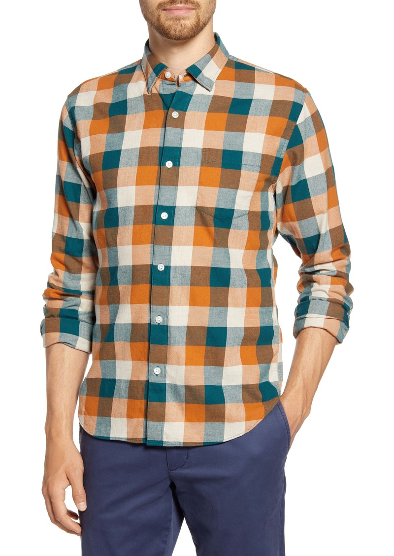 Bonobos Slim Fit Plaid Button-Up Shirt